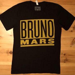 Bruno Mars 2017 24K Magic Tour Band Tee Shirt